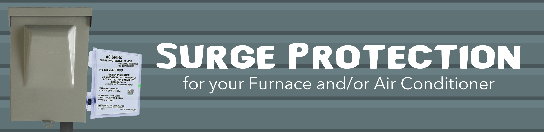 Surge Protection for your Furnace and/or Air Conditioner